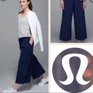 Lululemon For the Yin Wide Leg Pleat Pant